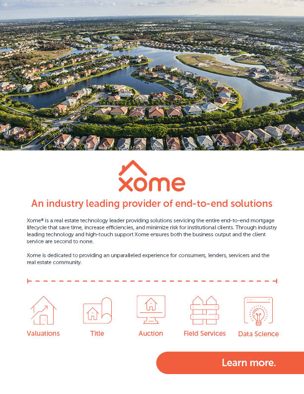 2018 Xome Overview Brochure