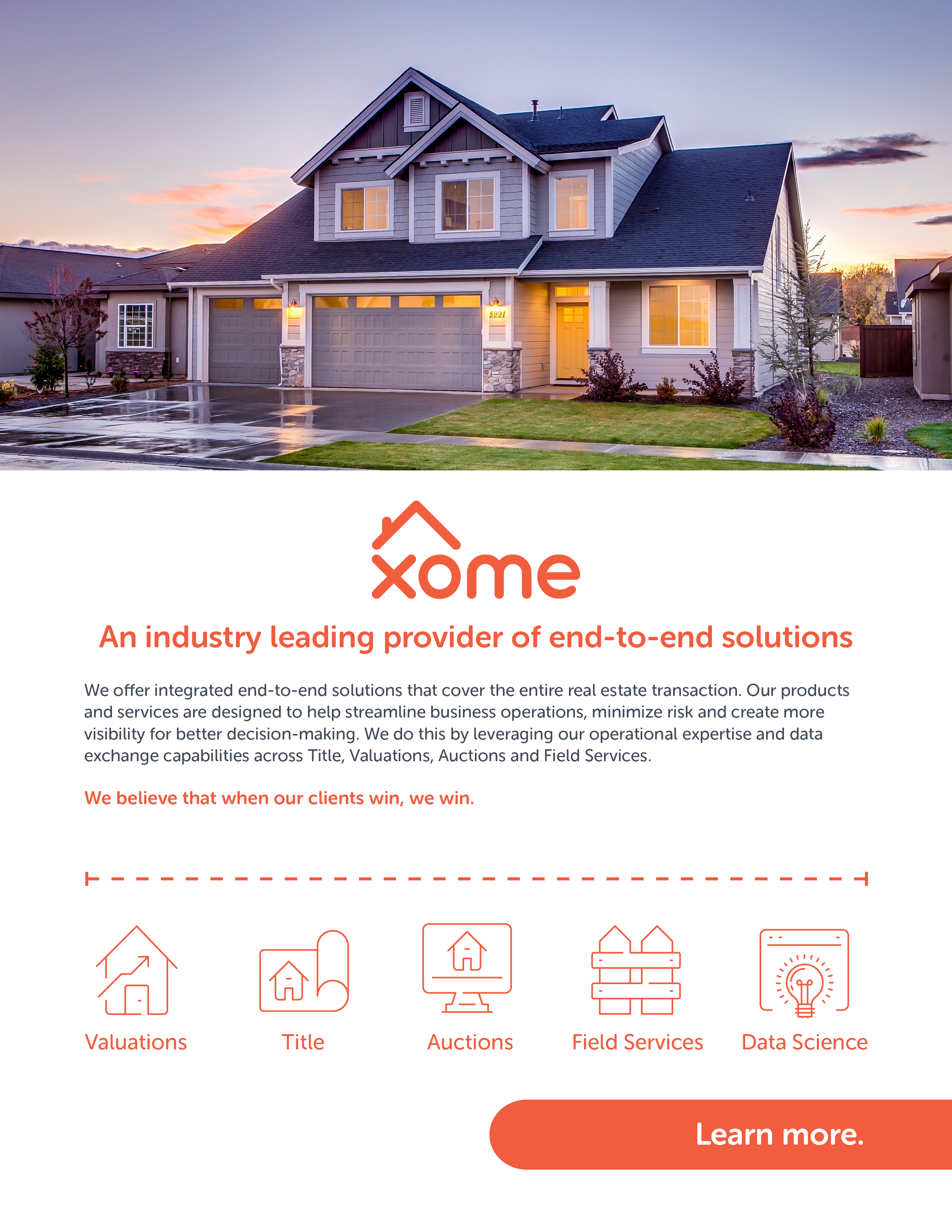 2020 Xome Overview Brochure